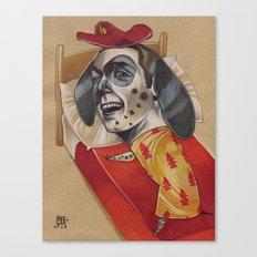 FIRE MARSHALL Canvas Print