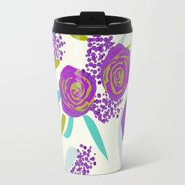 Vibrant Bouquet Travel Mug