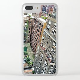 New York Gardens Clear iPhone Case