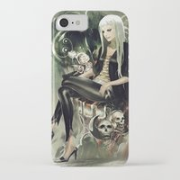 witch iPhone & iPod Cases featuring Witch by Lappisch