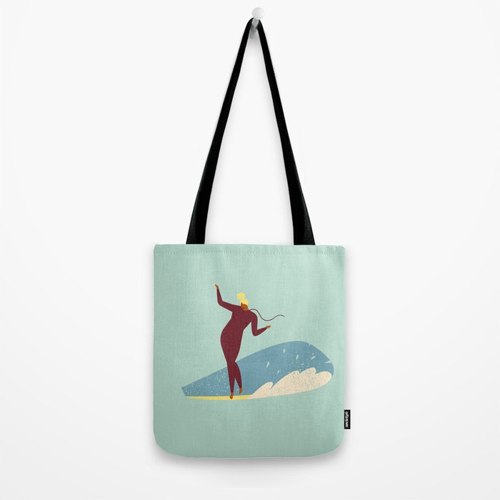 Surf girl Tote Bag
