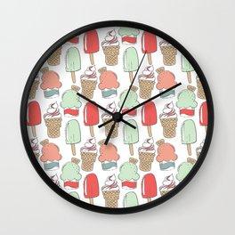 Ice Cream Cart Wall Clock