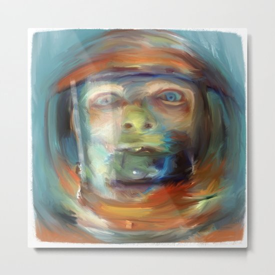 space sickness Metal Print