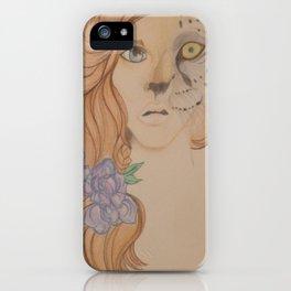 Leopard Girl iPhone Case
