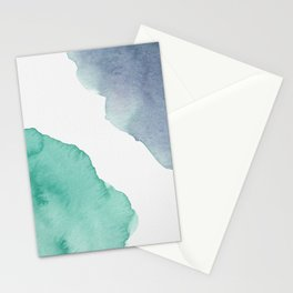 Watercolor Drops Stationery Cards