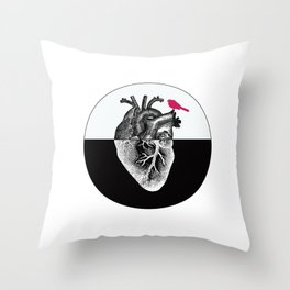 Cuore Throw Pillow