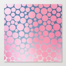 Pastel Polka Dots 2 Canvas Print