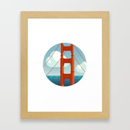 Golden Gate Framed Art Print