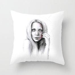 Self-destruction: expose Throw Pillow