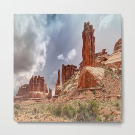 Moab - Red Rocks Country Metal Print
