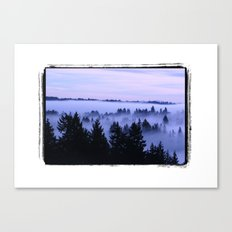 BremertonMorningFog Canvas Print