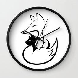 minima - guardian Wall Clock