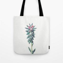 Flowering Succulent Tote Bag