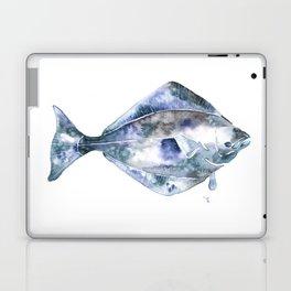 Flat Fish Watercolor Laptop & iPad Skin
