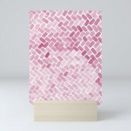 pink pavement Mini Art Print