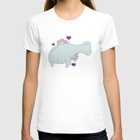 manatee T-shirts featuring Manatee by Katy Welte