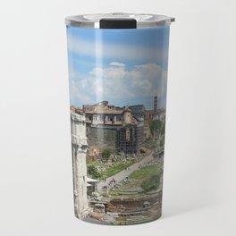 Roman Forum (Rome, Italy) Travel Mug