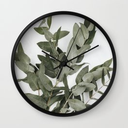 Eucalyptus Photography Wall Clock