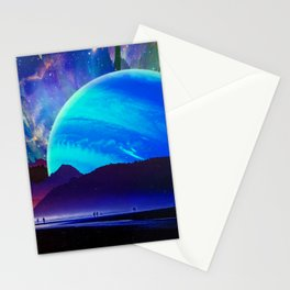 A Sunday Afternoon On The Island Of A Distant Planet Stationery Cards