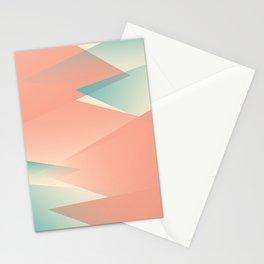 Pastel Peaks Stationery Cards