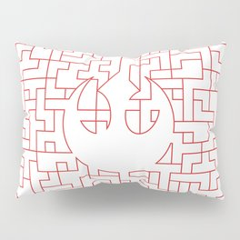 Rebellious Pattern Pillow Sham