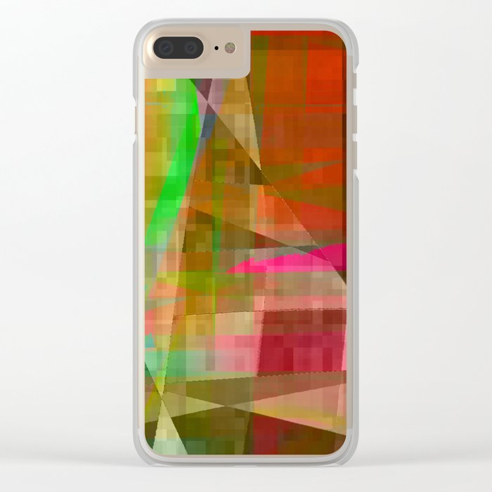 not a lot Clear iPhone Case