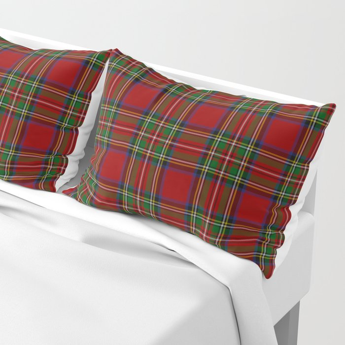 The Royal Stewart Tartan Kissenbezug
