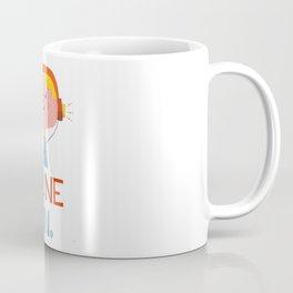 Tune in. Coffee Mug