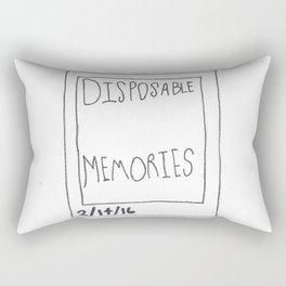 Disposable Memories Rectangular Pillow