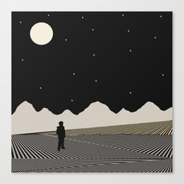 Over Yonder Canvas Print