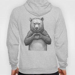 Bear with love Hoody