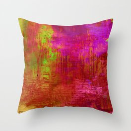 Creation with my son  Throw Pillow