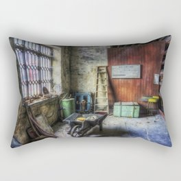 Olde Victorian Slate Workshop Rectangular Pillow