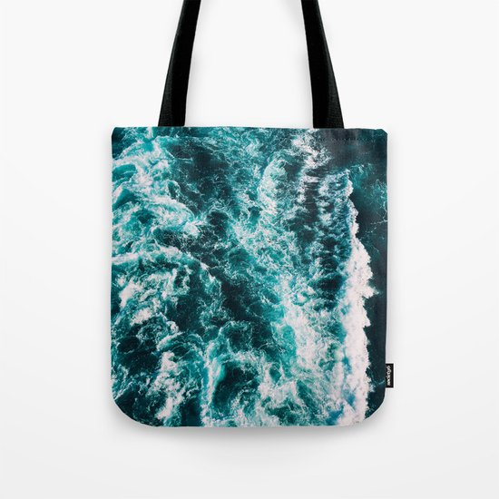 Deep Blue Waters Tote Bag