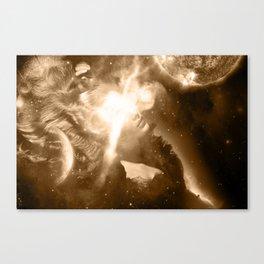 Sungazing Canvas Print