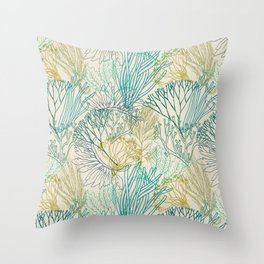 Flowing sea 2 Throw Pillow