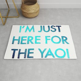 Here For The Yaoi Rug