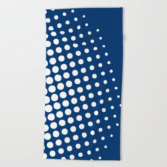 White raster - Optical game11 Beach Towel
