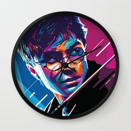 Harry.Potter Hogwarts Magic Abstract Fan Art Wall Clock