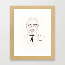 The Colonel Framed Art Print