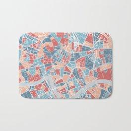 Krakow map Bath Mat
