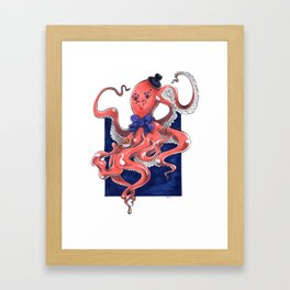 ::Mister Octopus:: Framed Art Print