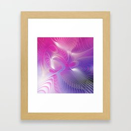 flames on texture -22- Framed Art Print