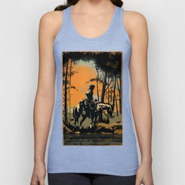 In the Evening (version 2) Unisex Tank Top