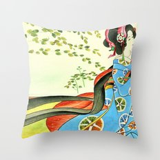 Psychedelic Love Throw Pillow
