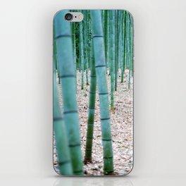 The Bamboo Grove, Arashiyama, Kyoto iPhone Skin