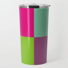 Colorful quarters Travel Mug