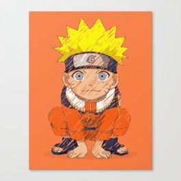 Naruto-chan Canvas Print