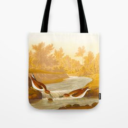 Little Sandpiper Bird Tote Bag