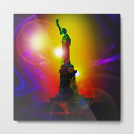 New York NYC - Statue of Liberty 10 Metal Print